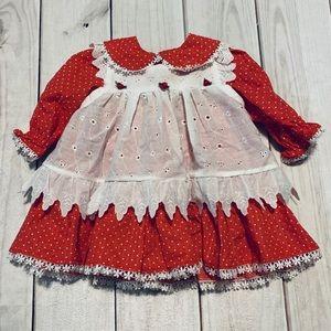 Gorgeous!! Vintage Pinafore Dress